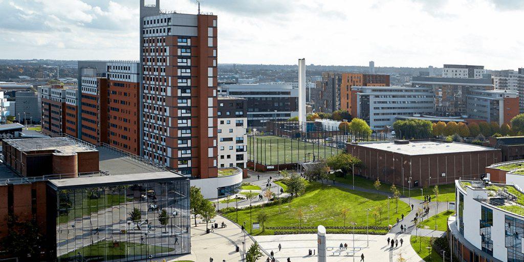 Aston Uni in Birmingham